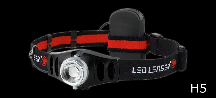 Linterna Ledlenser H5 - 25 Lumens - 70 Metros - Led de alta potencia